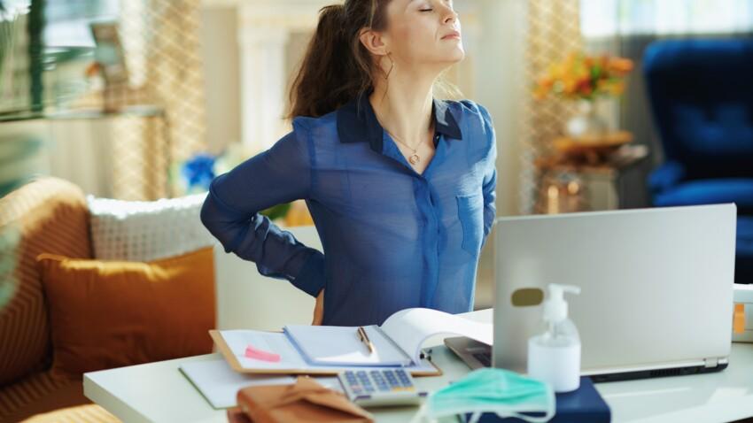 6 exos anti-douleur ultra-efficaces quand on travaille derrière un bureau