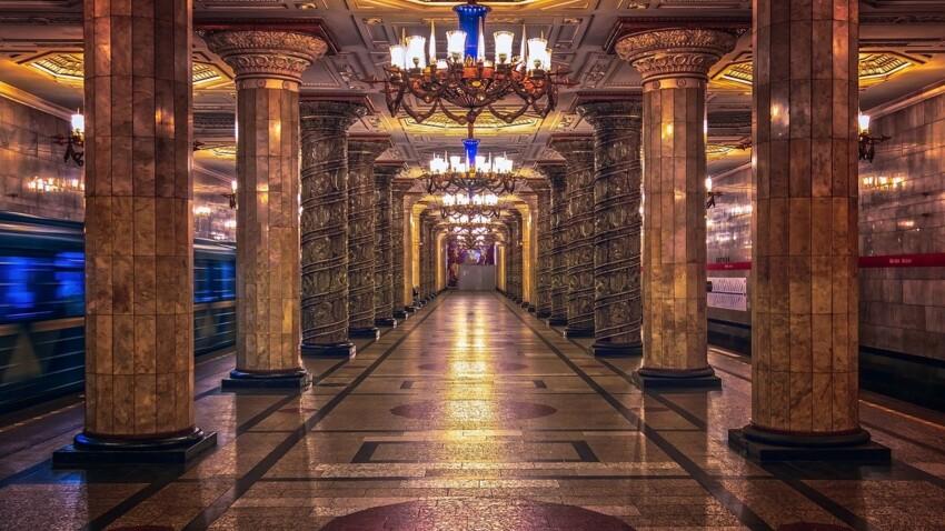 Russie : ce que vous ignorez sur le métro à Saint-Pétersbourg