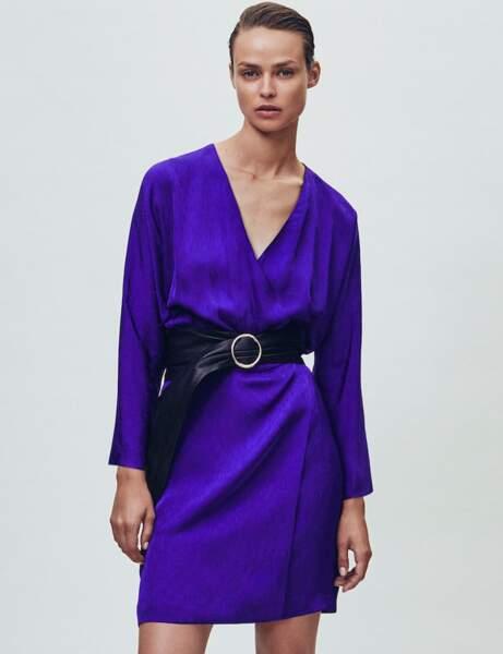 Robe tendance : ultra-violet