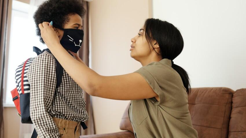 Port du masque dès 6 ans : où acheter des masques adaptés aux enfants ?