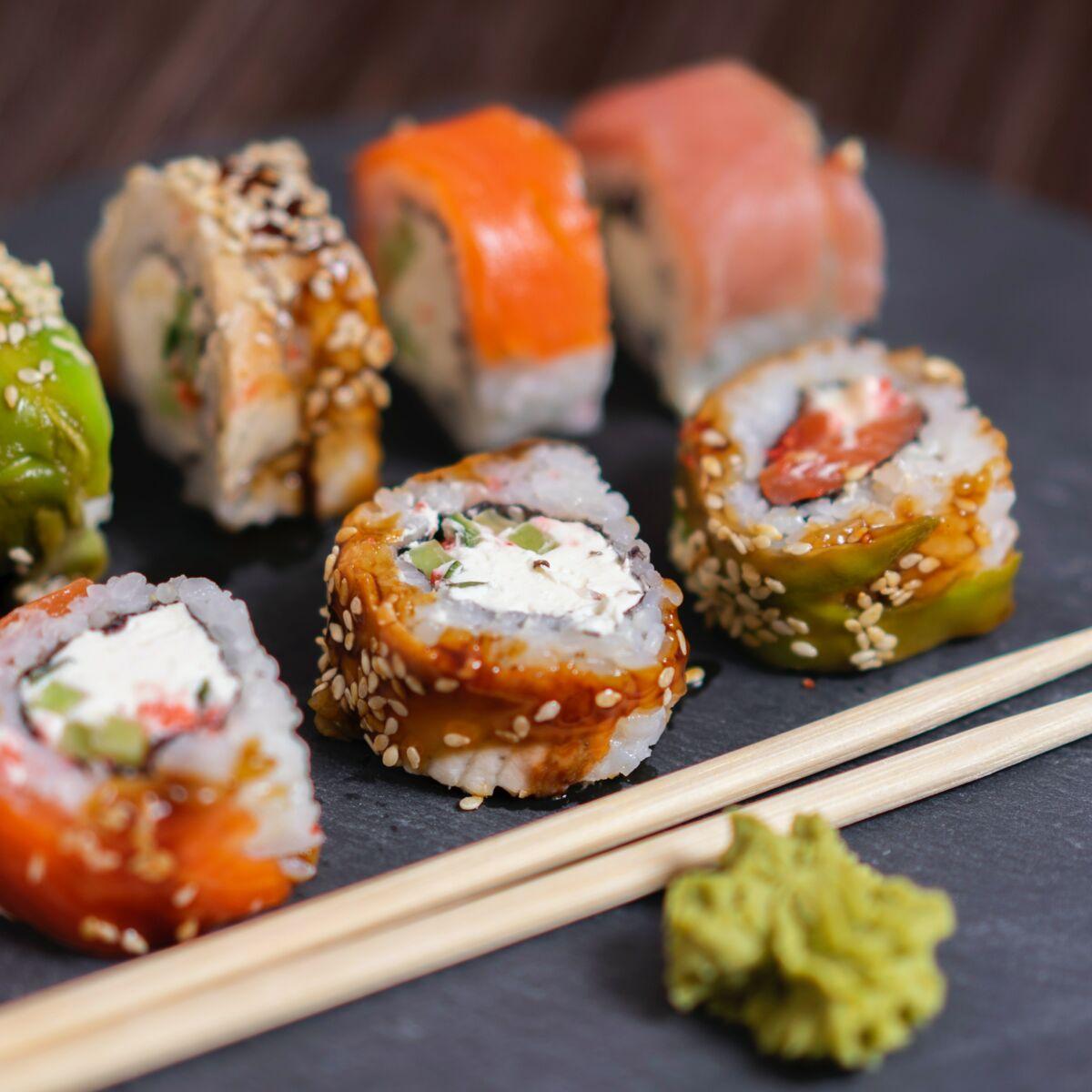 Sushis Que Choisir Au Restaurant Japonais Quand On Veut Perdre Du Poids Femme Actuelle Le Mag