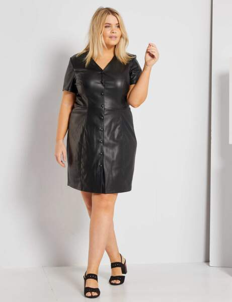 Robe grande taille : glamour