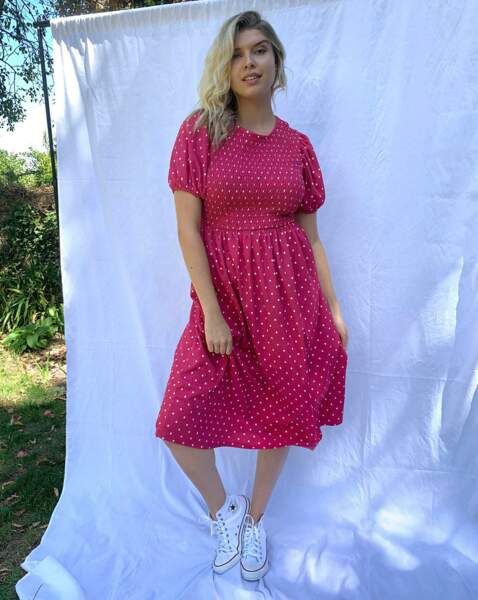 Robe grande taille : pin'up