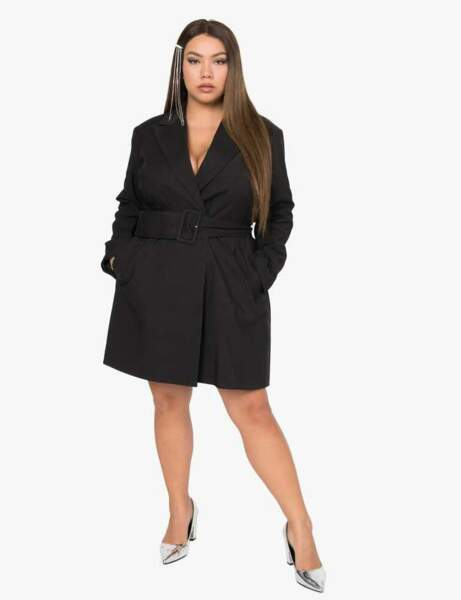 Robe grande taille : working-girl
