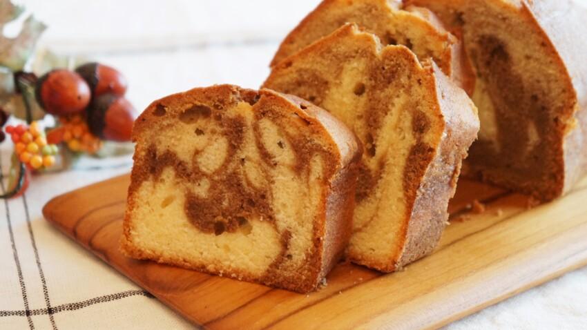 Par quoi remplacer le beurre dans le gâteau marbré ?