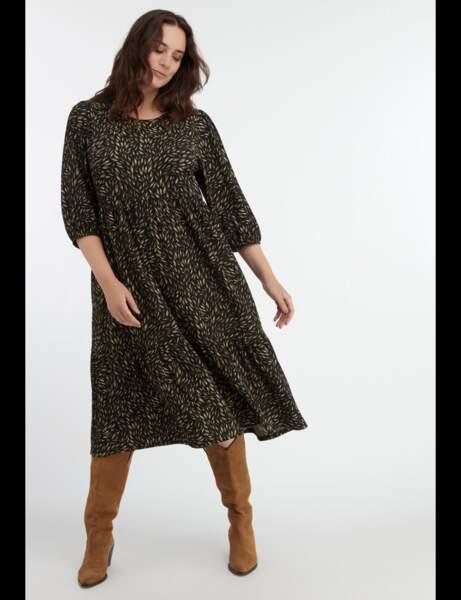 Robe grande taille : jungle spirit