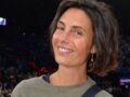 Alessandra Sublet craquante en top d'été et mini-short léger