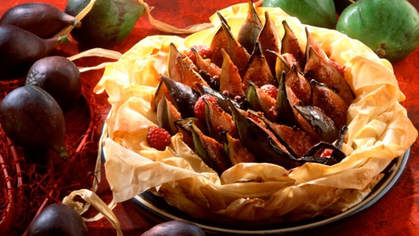 Cyril Lignac : son astuce pour préparer une tarte aux figues sans pâte