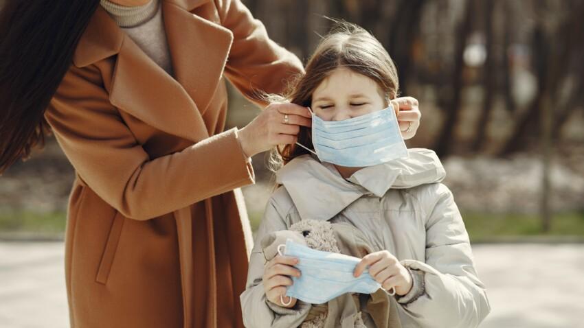Port du masque obligatoire dès 6 ans : 7 conseils d'experts pour faire porter cette protection à un enfant