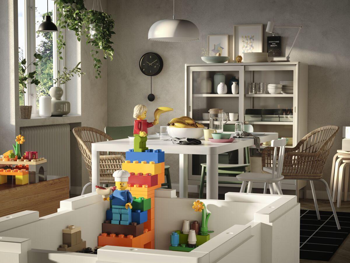Ikea Et Lego Collaborent Pour Rendre Le Rangement Plus Ludique Femme Actuelle Le Mag