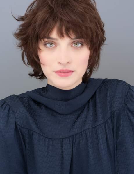 Coupe cheveux tendance automne/hiver : le court avec une mèche