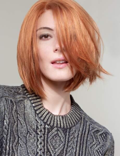 Coupe cheveux tendance automne/hiver : un carré très court sans frange
