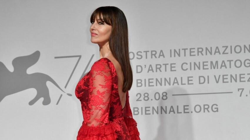 Monica Bellucci plus belle et sensuelle que jamais en décolleté, cuir et diamants (wow !)