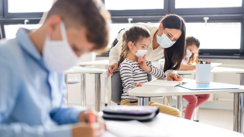 Port du masque : cette enseignante révèle son astuce pour le rendre plus supportable