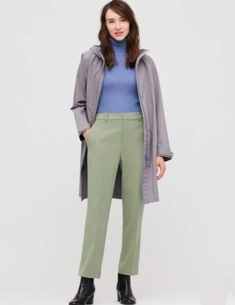 Les pantalons tendance de la rentrée automne-hiver 2020-2021 : vert flashy