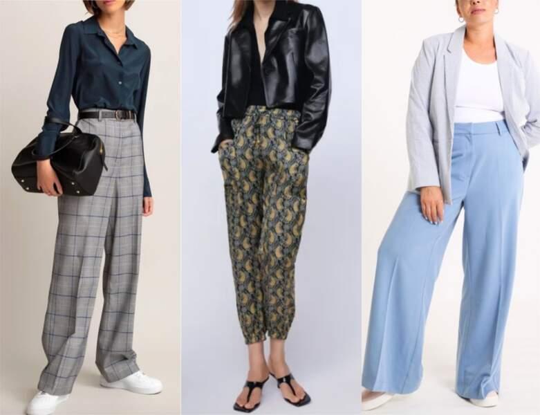 Les pantalons tendance de la rentrée automne-hiver 2020-2021