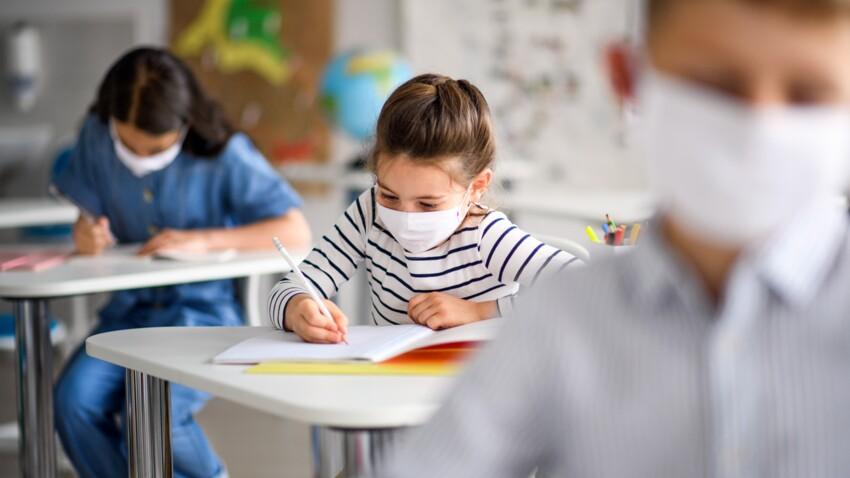 Covid-19 : voici le protocole mis en place si un cas est détecté dans l'école de votre enfant