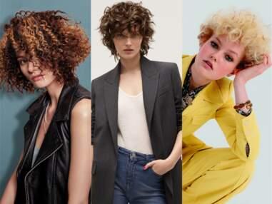 Cheveux courts et bouclés : idées de coiffures pour l'automne 2020
