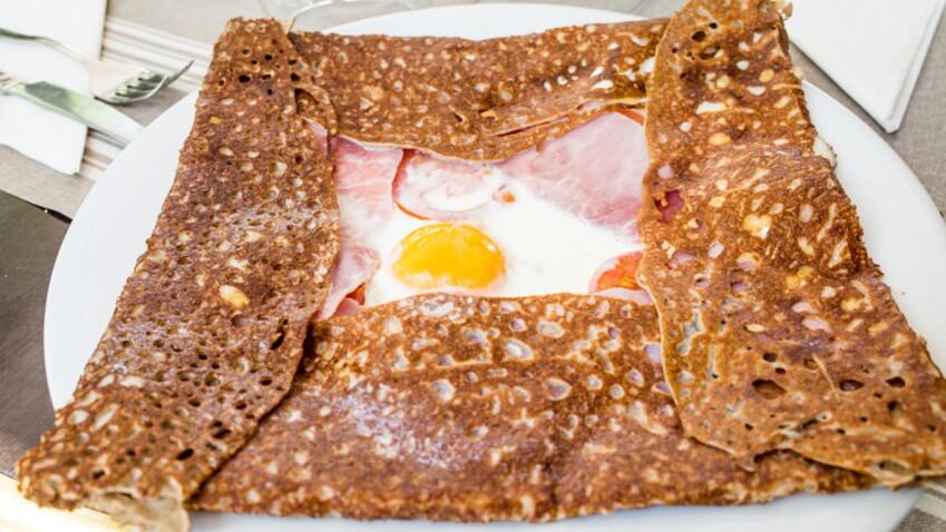 Tous en cuisine : la recette de la galette œuf jambon fromage de Cyril Lignac