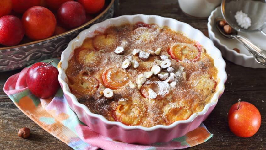 Tous en cuisine : la recette du clafoutis aux mirabelles de Cyril Lignac