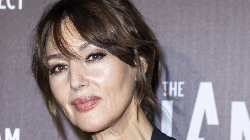 Monica Bellucci dévoile un décolleté sexy et une mise en beauté sublime