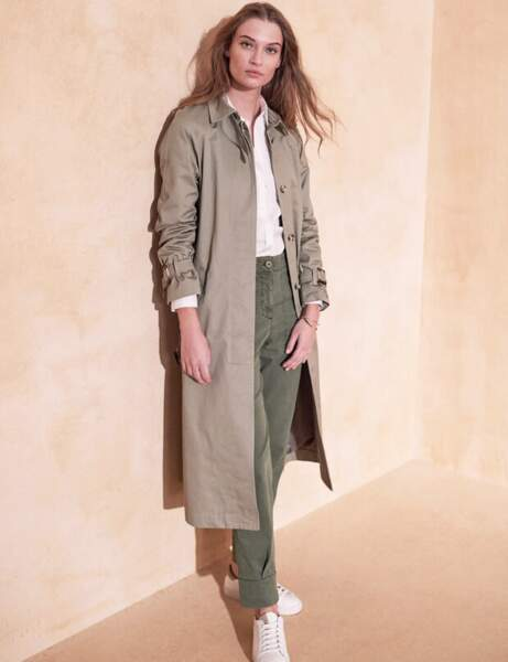 Trench tendance : long
