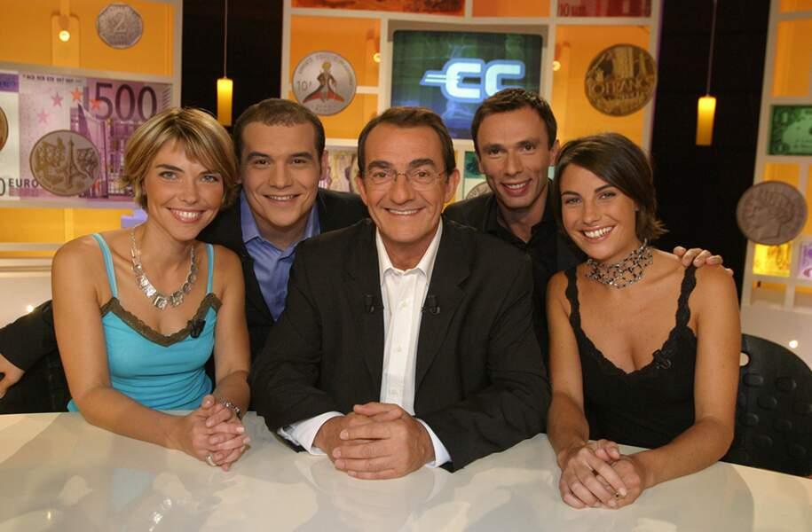 ... avec une bande de chroniqueurs parmi lesquels Nathalie Vincent, David Gonner, Renaud Hetru et une certaine Alessandra Sublet, à ses débuts à la télé, en 2003.