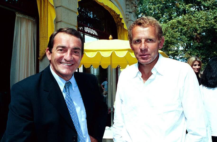 Sur TF1, il a côtoyé Patrick Poivre d'Arvor qui lui occupait le poste de présentateur du journal de 20 Heures.