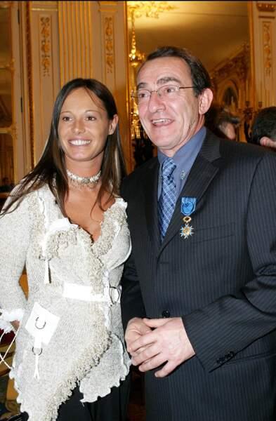 ... en compagnie de son épouse Nathalie Marquay.