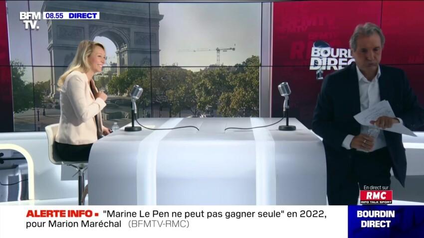 Jean-Jacques Bourdin : cette question qu'il n'a pas posée à Marion Maréchal... dévoilée hors antenne !