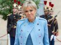 Brigitte Macron : jean moulant, bottines et veste en cuir, elle adopte un look chic et décontracté
