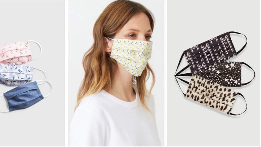 Masque en tissu : 15 jolis modèles pour une protection stylée (à partir de 2 €)