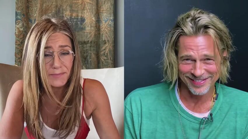 Brad Pitt et Jennifer Aniston rejouent une scène torride pour leurs retrouvailles : la Toile s'enflamme
