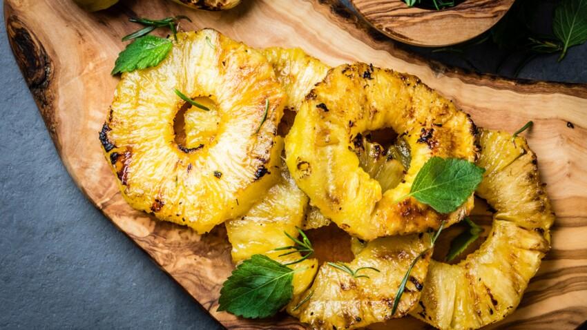 Tous en cuisine : la recette de l'ananas rôti à la vanille coco de Cyril Lignac