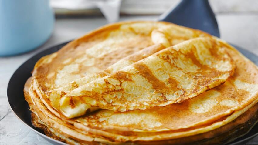 3 recettes de pâte à crêpes sans repos