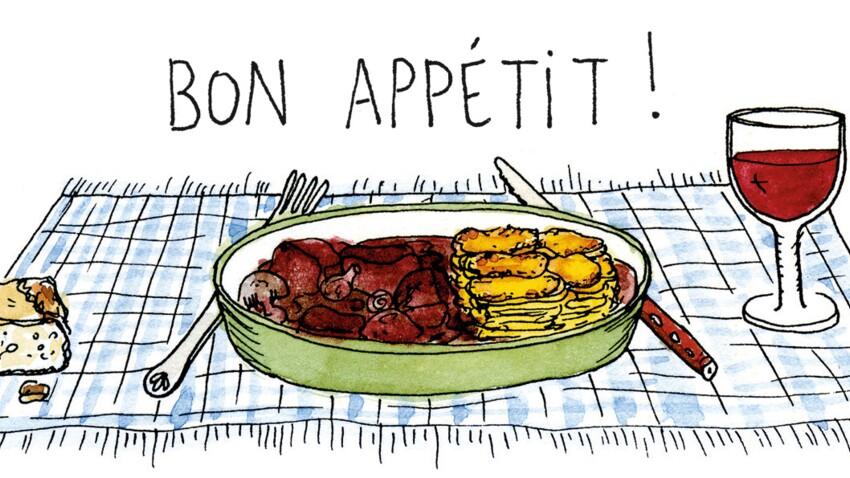 """4 recettes illustrées de Ginette Mathiot, auteur de """"Je sais cuisiner"""", 1er livre de cuisine best seller"""