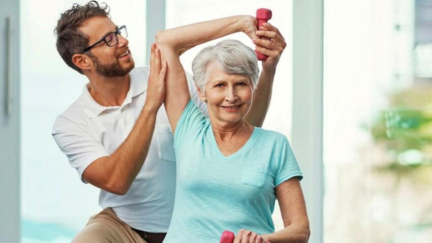 Muscles, articulations… Après 50 ans, la kinésithérapie a tout bon !