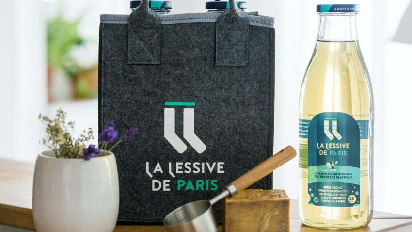 La 1ère lessive en bouteilles consignées et livrées à vélo est parisienne