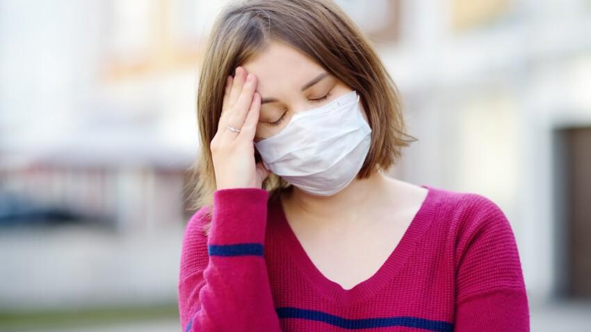Le port du masque augmente-t-il les migraines ?
