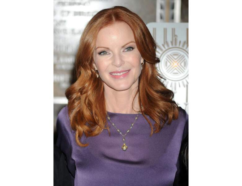 Les ondulations de Marcia Cross