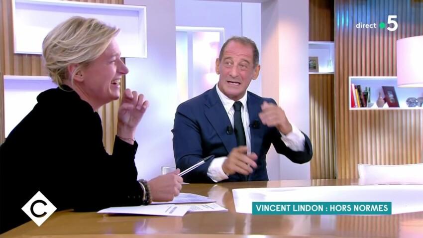 """""""C à vous"""" : Vincent Lindon et Anne-Elisabeth Lemoine, leur drôle de malentendu"""