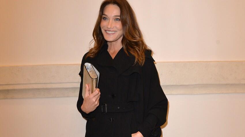 Carla Bruni affiche une chevelure sublime (wow !)
