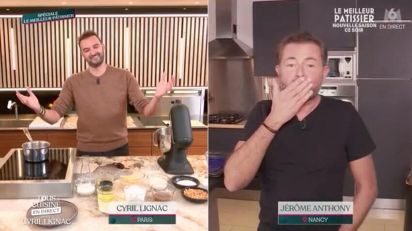 """""""Tous en cuisine"""" : ce geste de Cyril Lignac qui a ému Jérôme Anthony"""