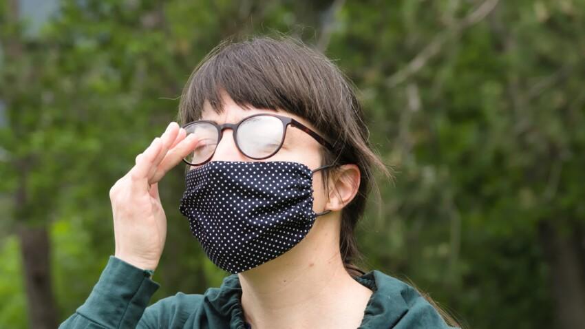 Port du masque : cet accessoire génial permet d'éviter la buée sur les lunettes