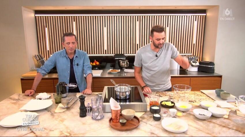 """""""Tous en cuisine"""" : Surprise ! Gad Elmaleh débarque dans la cuisine de Cyril Lignac"""