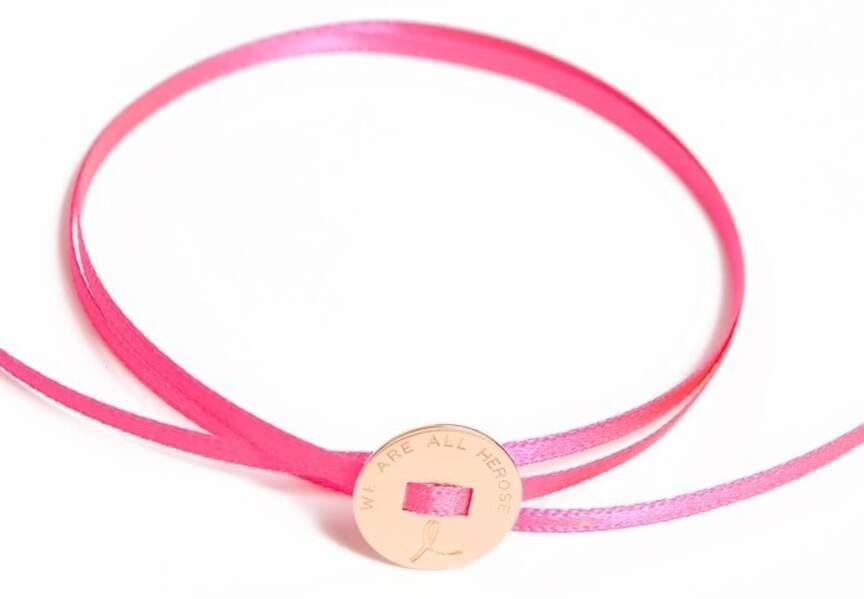 Octobre Rose : le bracelet de La Môme Bijou