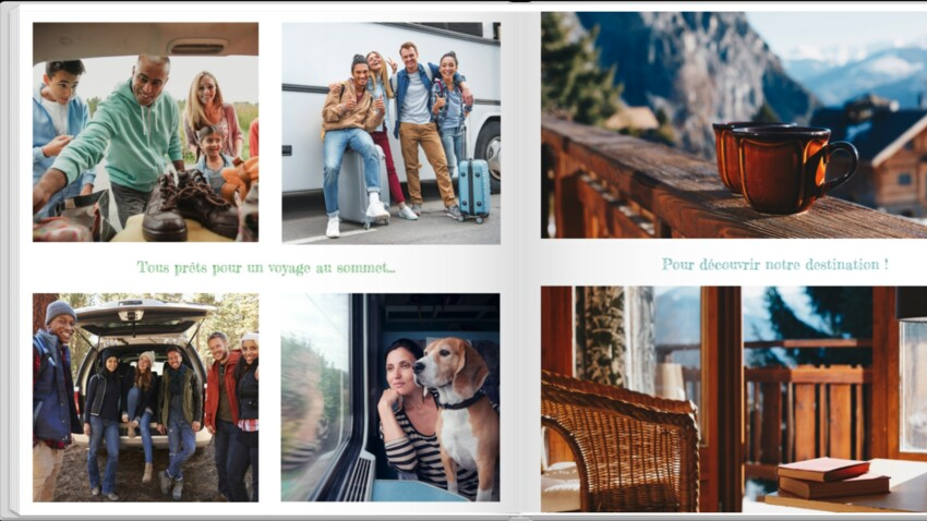 Idée cadeau : créer un album photo personnalisé