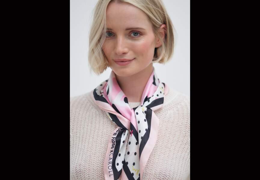 Octobre Rose : le foulard de Caroll