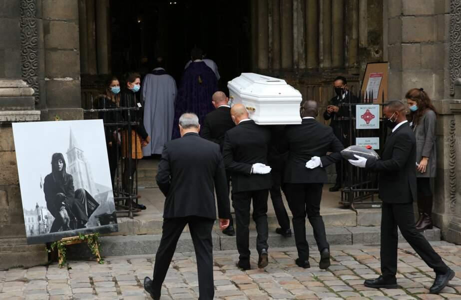 Obsèques de Juliette Gréco
