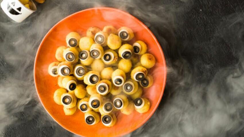 Gnocchi « yeux »